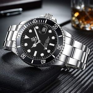 Other - Black Submariner Luxury Watch Silver Presidential